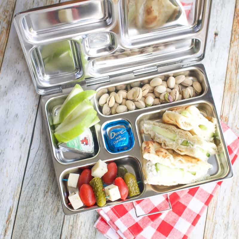 Lunch for Mom // Cucumber Sandwich