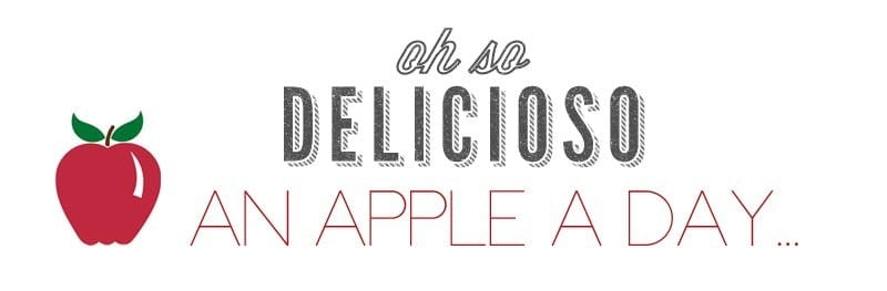 An Apple A Day graphic by Oh So Delicioso