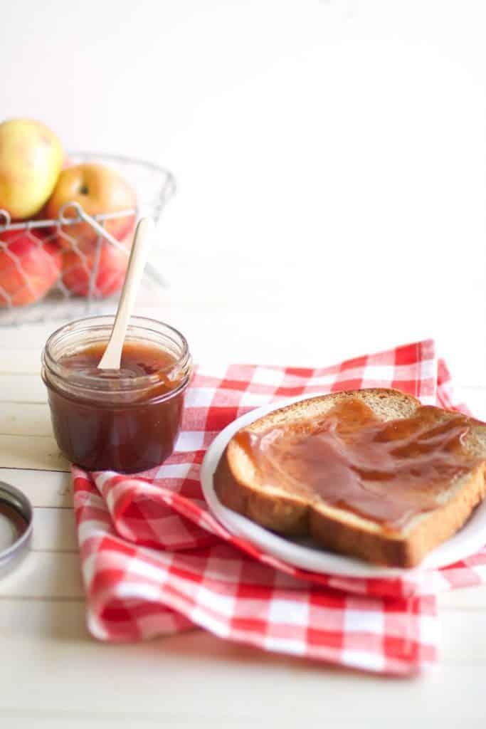 Overnight Crockpot Apple Pear Butter