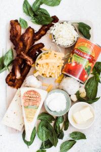 ingredients to make mac n cheese