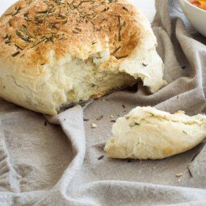 Quick Crusty Herb Bread