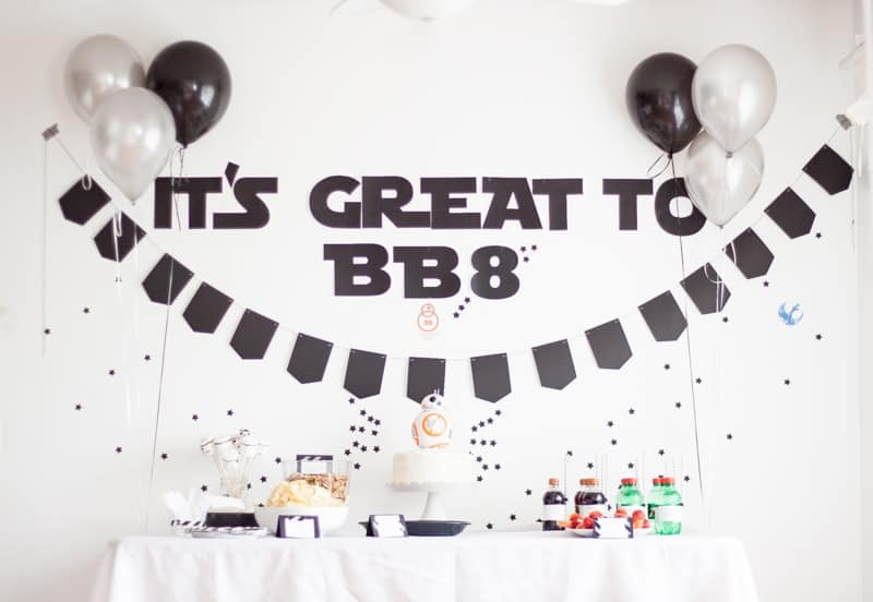 Star Wars BB-8 Party
