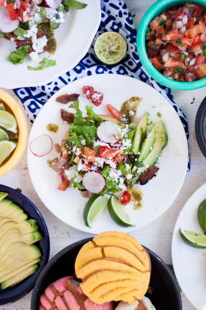 Vegan Sopes With Refried Beans And Salsa Verde Recipe ...