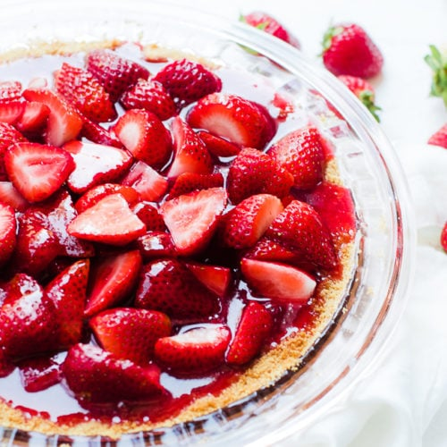 Fresh Strawberry Pie Oh So Delicioso