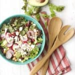 Radish and Bean Green Salad