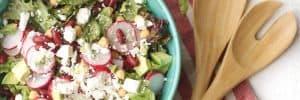 Radish and Bean Green Salad