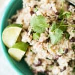 Tangy Black Beans and Rice – Pressure Cooker