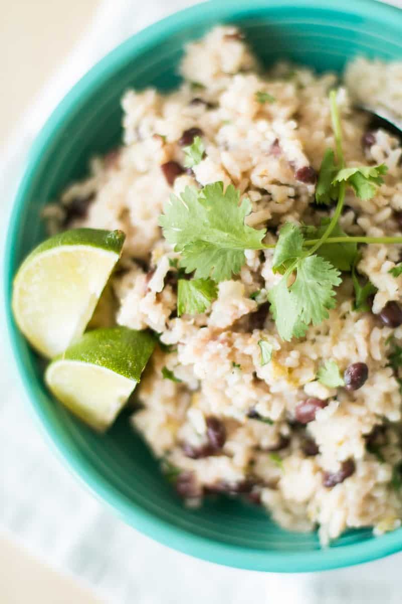 Pressure Cooker Black Beans and Rice-2
