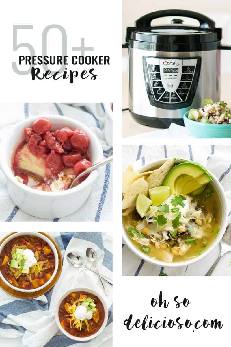50+ Pressure Cooker Recipes collage