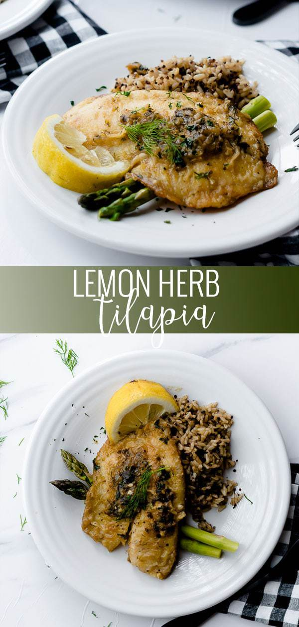 lemon herb tilapia