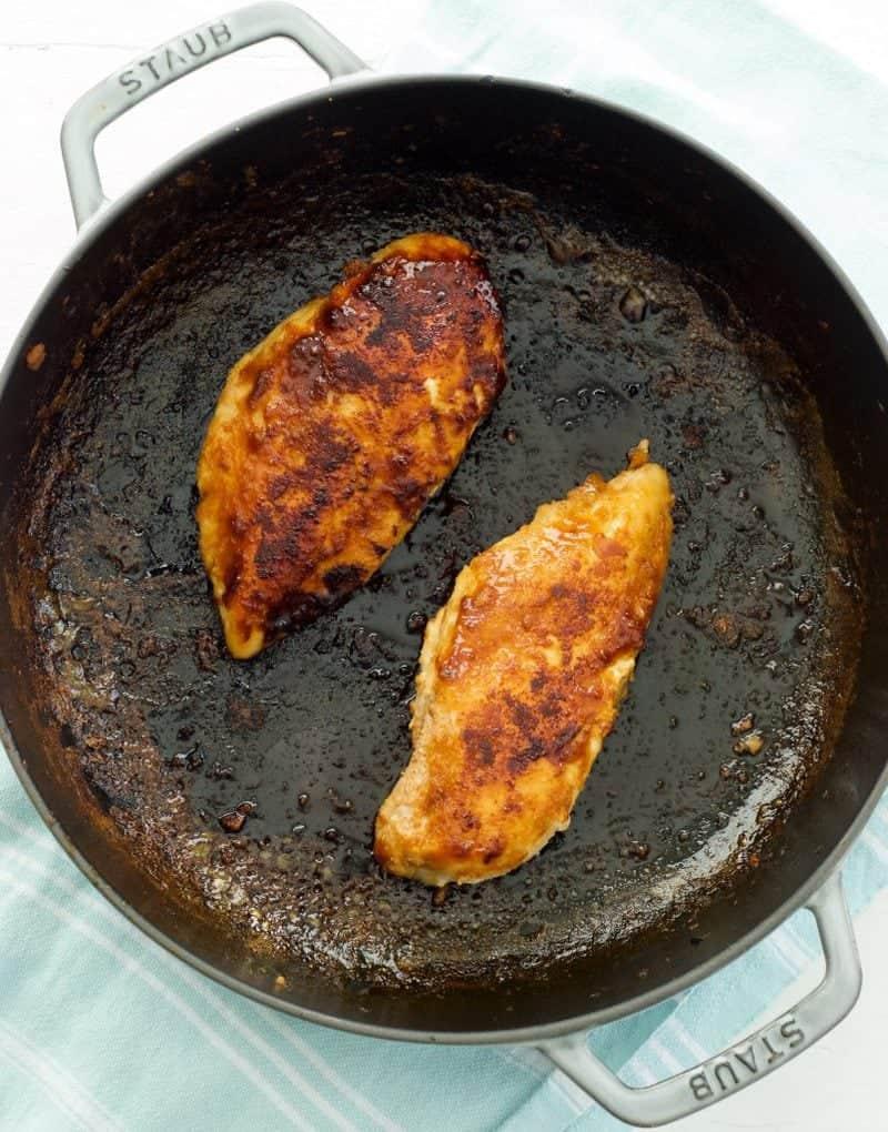 Sticky Ginger Chicken and Veggies