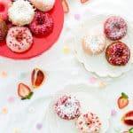 Coconut Cake Doughnuts