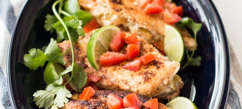 Fajita Stuffed Chicken with American Kitchen Cookware Giveaway