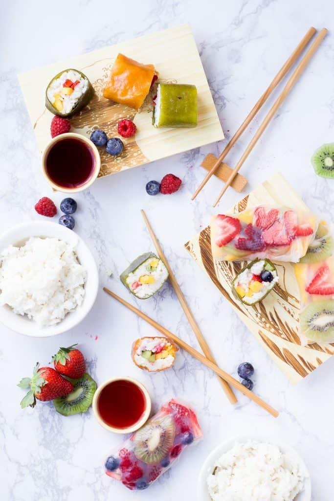 How to: Fruit Sushi