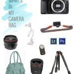What's In My Camera Bag – Food Photography Edition