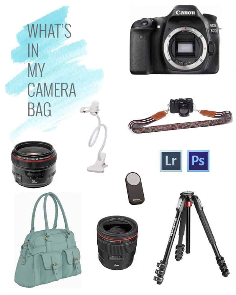 What's In My Camera Bag - Food Photography Edition