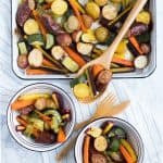 Sausage + Veggie Sheet Pan Meal
