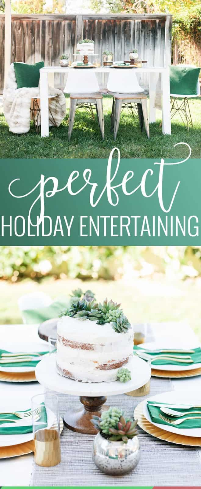 Perfect Holiday Entertaining Tips | holiday entertaining ideas | how to host a holiday dinner | holiday dinner ideas | holiday tablescapes | holiday hosting tips || Oh So Delicioso #holidayentertaining #holidaytablescape #holidayhosting