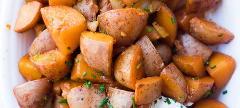 Pressure Cooker Seasoned Red Potatoes