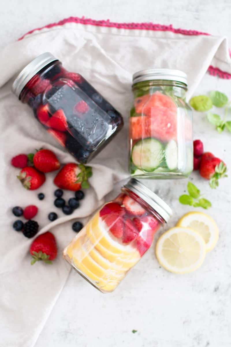 Infused Water For Your Health | homemade water recipes | infused water recipes | healthy water recipes | fruit water recipes || Oh So Delicioso #infusedwater #fruitwater