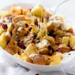 Pressure Cooker Cheesy Potatoes