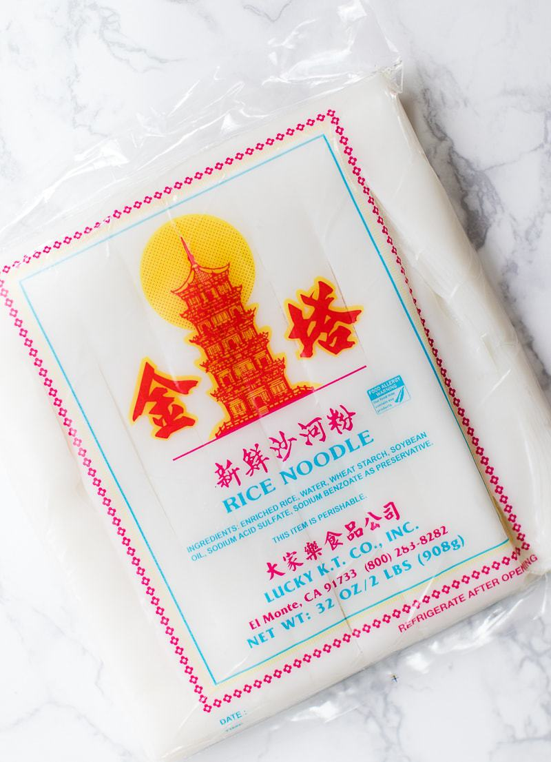 rice noodles package