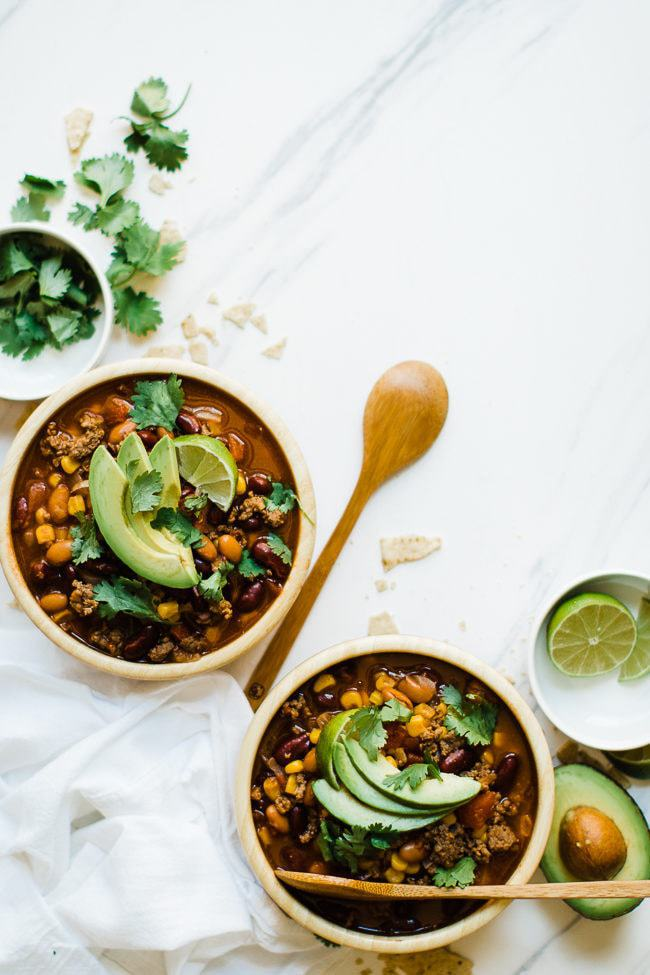Easy Pressure Cooker Taco Soup