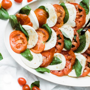 caprese salad sideways