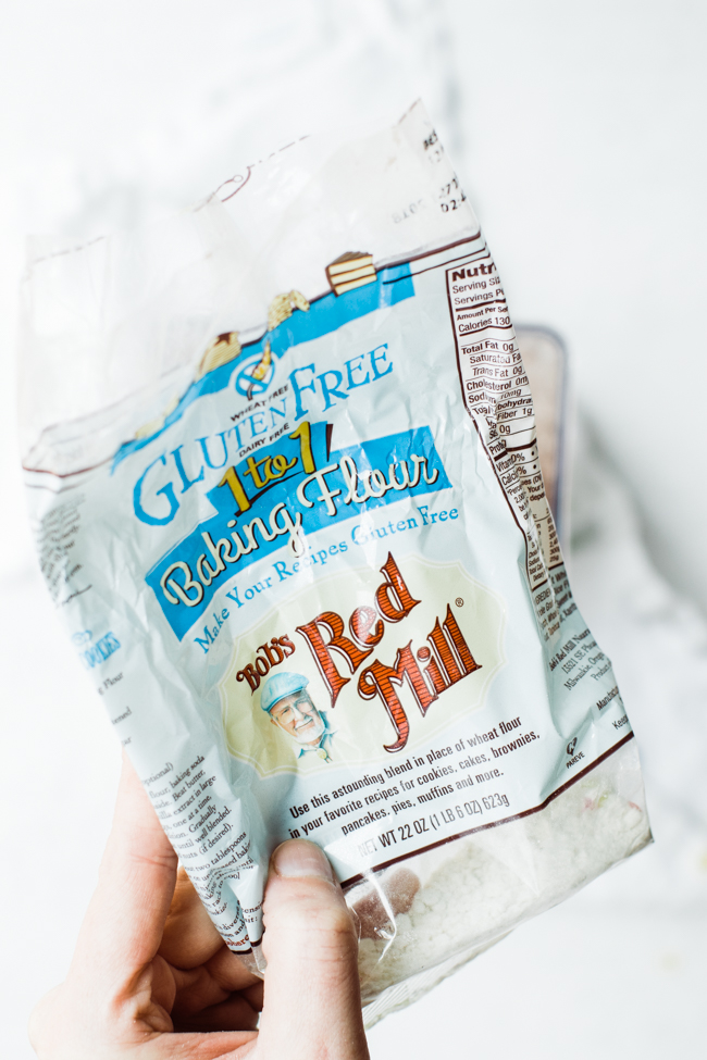 gluten free flour packagin