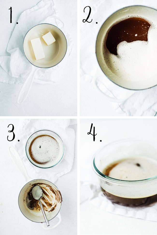 steps on how to make browned butter