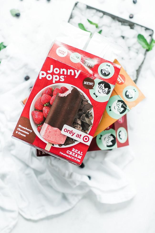 Jonny Pops boxes, stacked.
