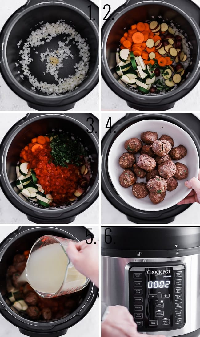How to make Mexican meatball soup.