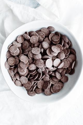 bowl of melting chocoalte