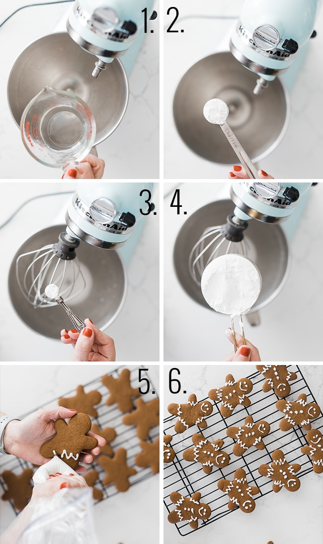 How to make easy gingerbread men.
