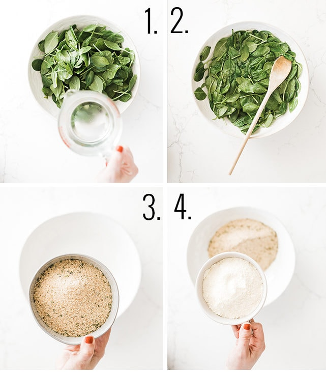 How to make spinach balls recipe.