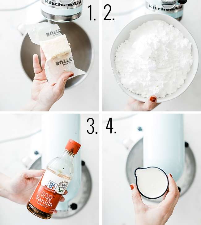 How to make batter for waffle cookies.