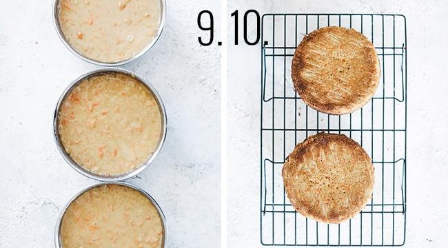 How to make carrot cake batter.