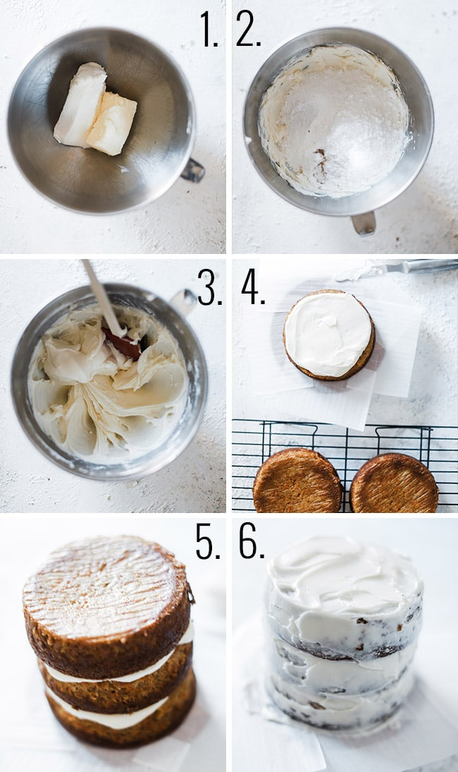 How to make cream cheese frosting.