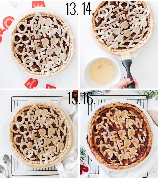 How to make a pie crust.
