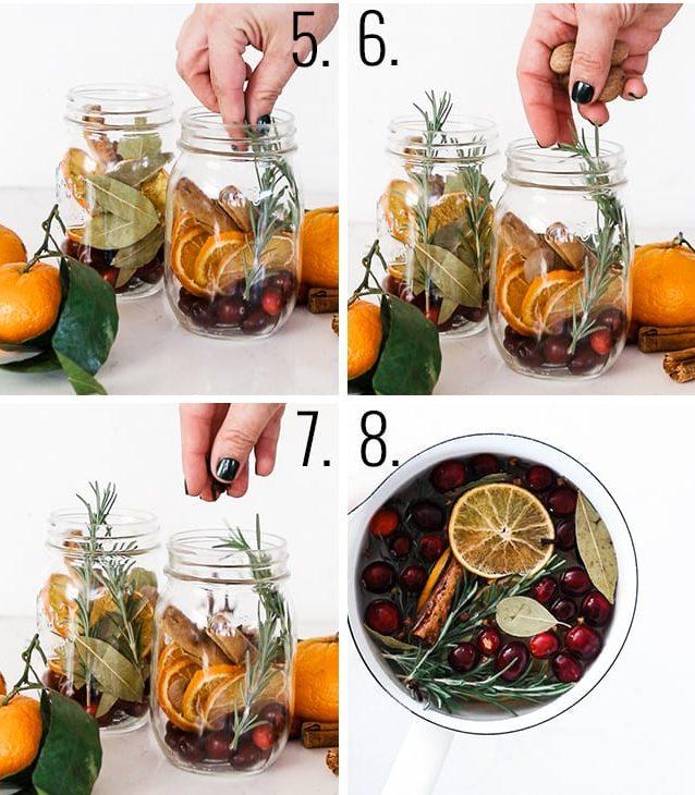 How to make Stovetop Poutpourri.