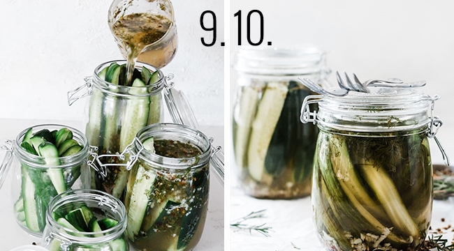 How to make dill pickle brine.