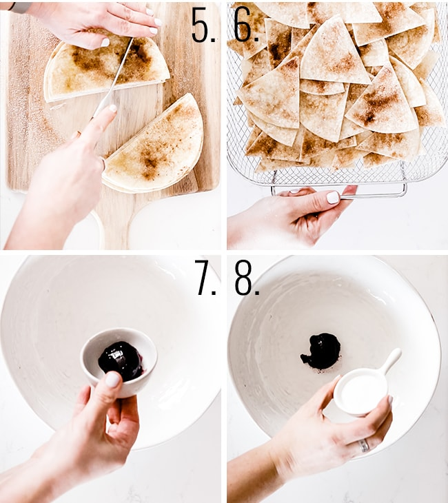 How to make cinnamon chips.