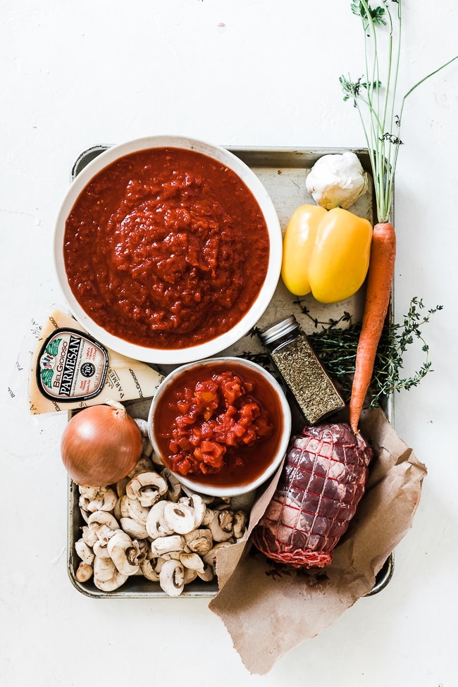 Ingredient needed to make cacciatore.