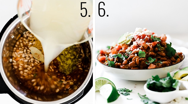How to make pinto beans in your pressure cooker.