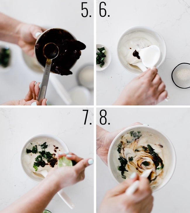 How to make creamy chipotle sauce.