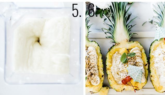 How to blend pineapple smoothie.