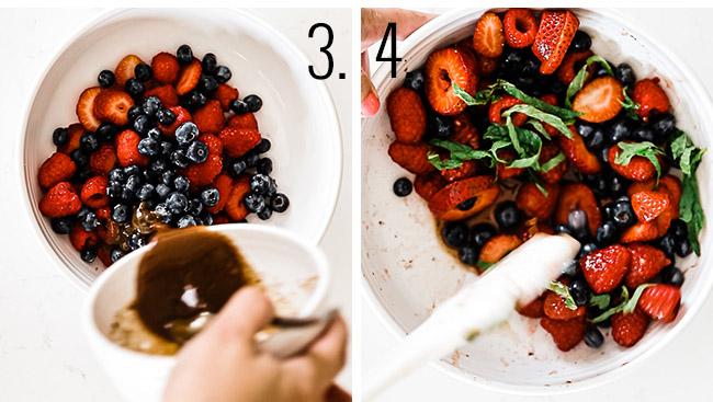 How to make fruit salad.
