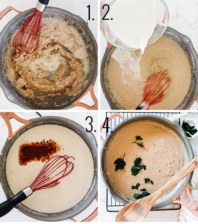 How to make gravy.