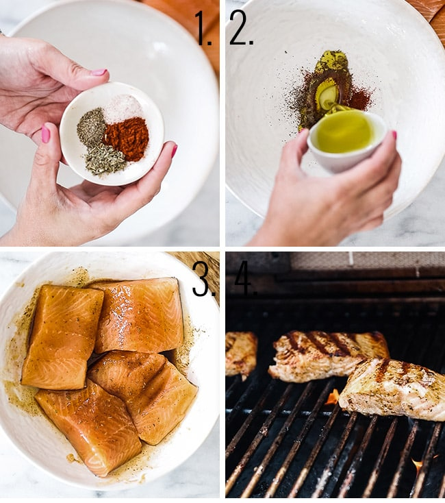 How to make salmon marinade