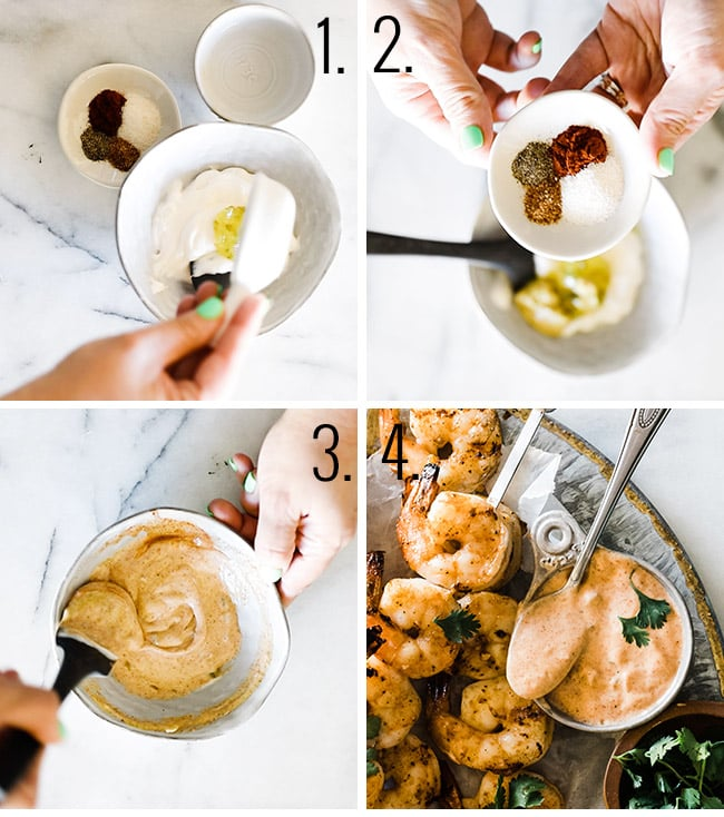 How to make remoulade sauce.